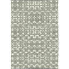 Alfombra Twist gris 120x170 cm