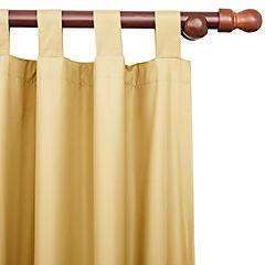 Set de cortinas Sun Out 140x220 cm 2 unidades oro