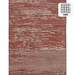 Revestimiento vinílico muro rojo 1,66