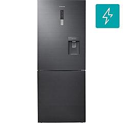 Refrigerador no frost bottom freezer 432 litros gris