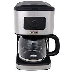 Cafetera eléctrica 0,4 litros gris
