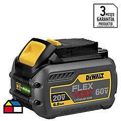 Batería recargable 60 V Ion litio
