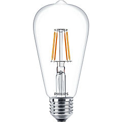 Ampolleta LED Filament 6W-60W Pera E27