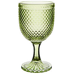 Copa vidrio 280 ml Verde