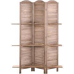 Separador con estantes 174x120 cm