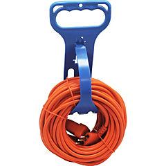 Extensión con organizador de cable 10 A 18 m