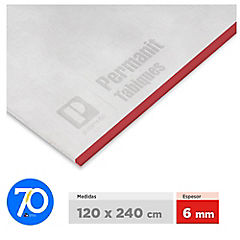 6 mm 120 x240 cm Planchas permanit superboard