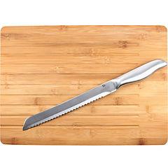 Tabla con cuchillo 36x27x4 cm bambú