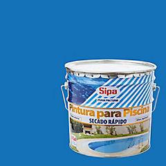 Pintura para piscina mate 4 gl azul