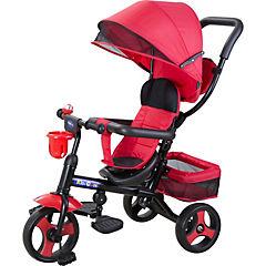 Triciclo 102x62x70 cm rojo