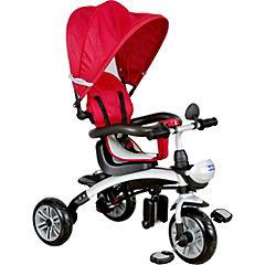 Triciclo 110x63x70 cm rojo