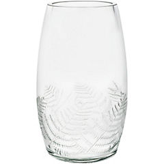 Set de vasos vidrio 600 ml 6 unidades