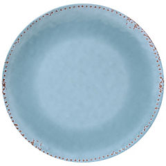 Plato redondo turquesa 44 cm