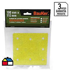 Pack lijas para madera 115 mm 3 unidades