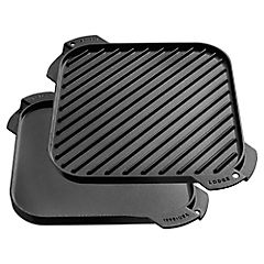 Plancha grill reversible 26,6x26,6 cm