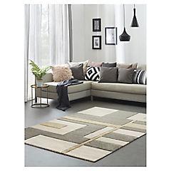 Alfombra Shuffle gris 200x290 cm