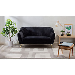 Alfombra Shuffle gris 140x200 cm