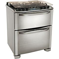 Cocina a gas 5 quemadores 100 litros inox