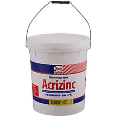 Esmalte al agua Acrizinc base U 4 gl