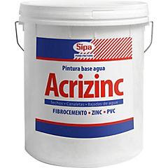 Esmalte al agua Acrizinc base 4 gl
