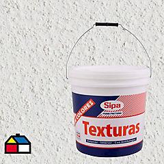 Revestimiento texturado 24 kg blanco