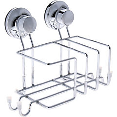 Canasto para lavalozas metal Cromado
