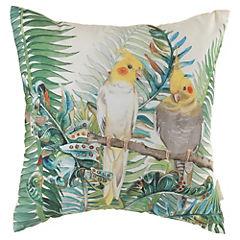 Cojín Aves Tropicales 44x44 cm