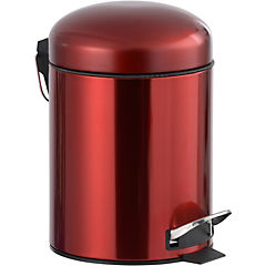 Papelero de Metal 5 Lts Rojo