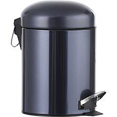 Papelero Gris Metálico 5 litros