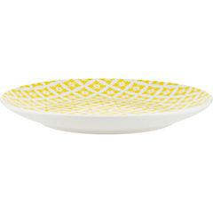 Plato ensalada 19 cm amarillo Dhogar