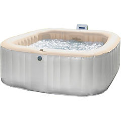 Spa inflable gris 4 personas