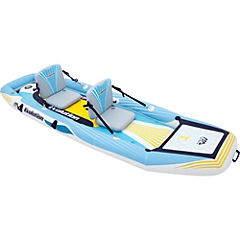 Bote kayak plástico azul