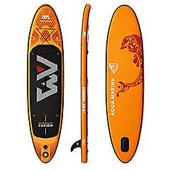 Tabla stand up paddle plástico naranjo