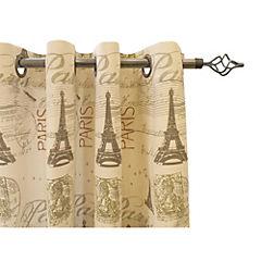 Cortina vintage Eiffel 140x220