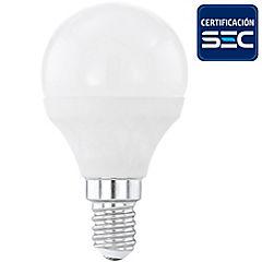 Ampolleta led bulbo 4W-30W E14 luz cálida