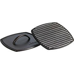 Prensa panini grill 21,1x21,1 cm con tapa