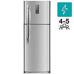 Refrigerador no frost top mount freezer 321 litros gris