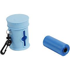 Dispensador de bolsas para perro Azul
