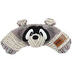 Juguete para perro 28x13 cm mapache de peluche con sonido