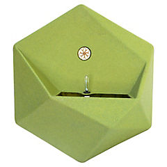 Macetero panal autoregante verde soft 47x54 cm