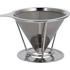 Filtro de café acero 800 ml gris