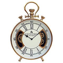 Reloj de mesa 56x40x8 cm dorado