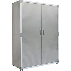 Estante 183x121x61 cm metal gris
