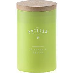 Vela en frasco té verde & pepino verde