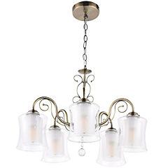 Lámpara colgante Vila 5 luces