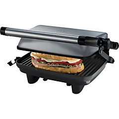 Sandwichera parrilla 1400 W gris