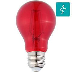 Ampolleta led decorativa 4 W E27 rojo
