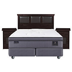 Box Spring King Base Dividida + Muebles Torch