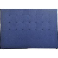 Respaldo para cama 120x170x8 cm Azul