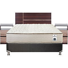 Box Spring 2 Plazas Base Normal + Muebles Enio